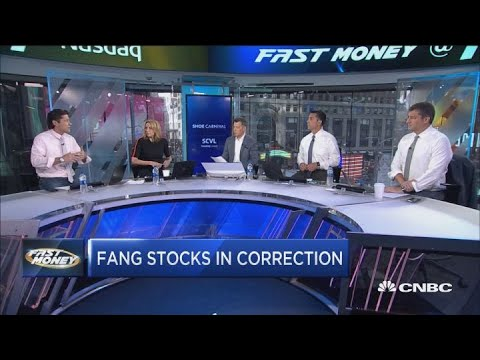 FANG stocks in correction as trade tensions hit tech