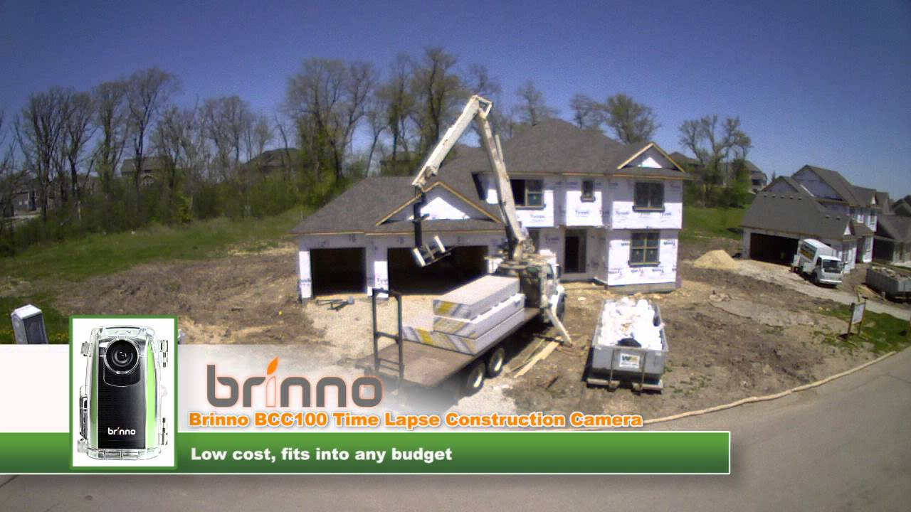 brinno bcc100 time lapse construction camera overview youtube