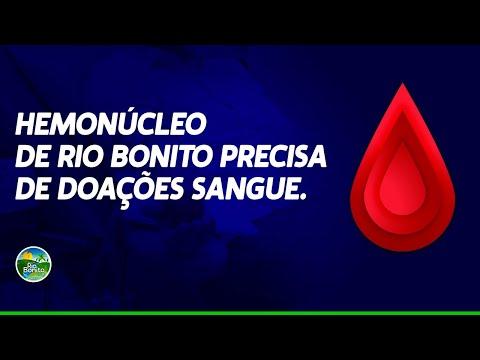 HEMONÚCLEO DE RIO BONITO PRECISA DE DOAÇÕES DE SANGUE