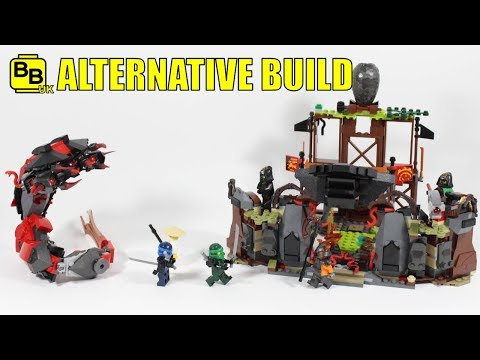 LEGO NINJAGO 70626 ALTERNATIVE BUILD TIME TEMPLE