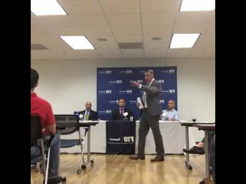 Panel: Veterans Share Their Experience as Students and Graduates of FIU's MBA Programs