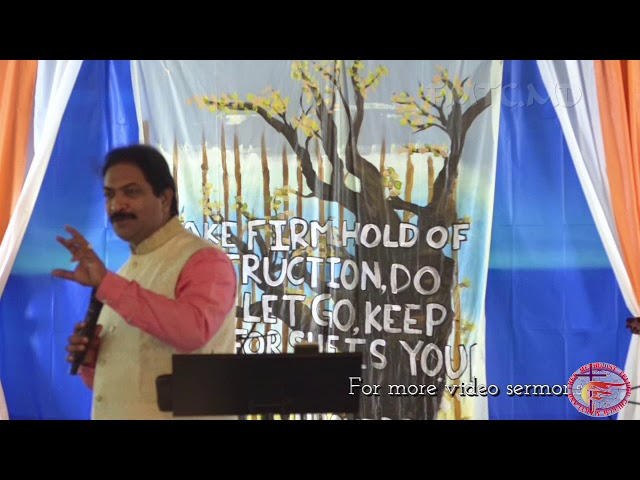 CFC 2017 Session 2 Message by Rev. Rangaraju Samuel
