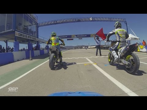 RAW STUFF - S1GP of COM. VALENCIANA - Full S1GP Race 2 from #41 Schmidt On-board Camera - Supermoto