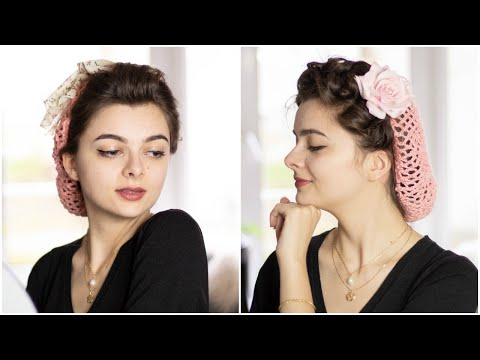 Vintage Snood | How To Make & Wear One