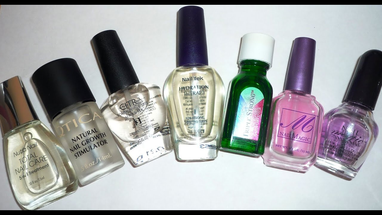 Nail Hardeners VS Nail Strengtheners - YouTube