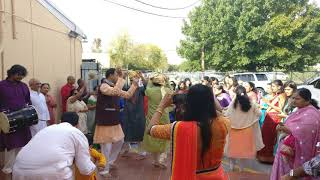 Jain Society Houston USA Palitana Bhavyatra, Saraswati Poojan, 18 Abhishek, Salgiri 2017