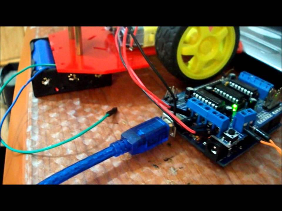 Adafruit L293 Motor Driver Module Arduino Youtube