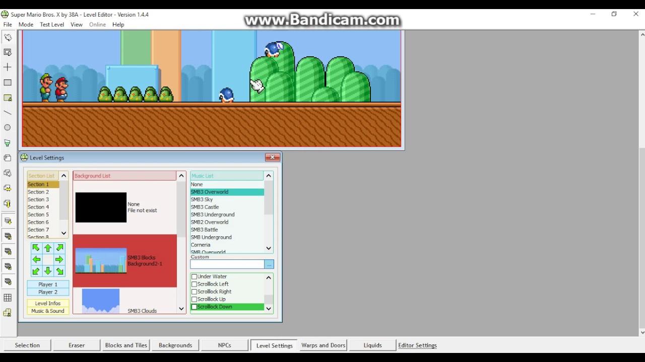 Super Mario Bros  X (SMBX-38A) 1 4 4 - Level Editor Showcase