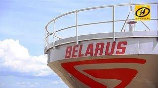 Минский тракторный завод собрал первую тысячу тонн зерна