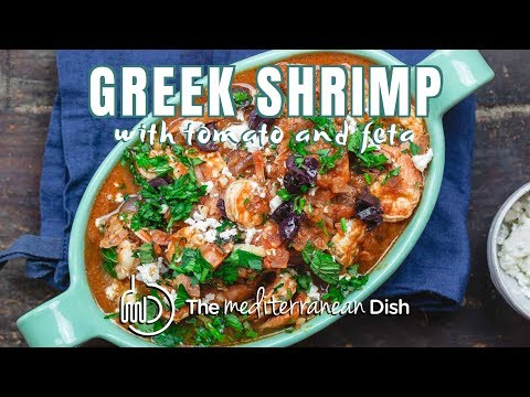 Greek Shrimp with Tomato and Feta | The Mediterranean Dish
