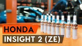 Montare Set saboti frana HONDA INSIGHT (ZE_): video gratuit