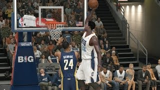 Andrew Wiggins Kills Paul George RIP - NBA 2K14 MyCareer Andrew Wiggins