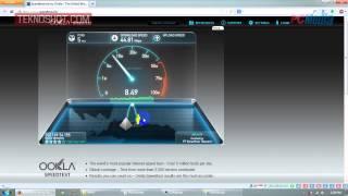 Mengecek Kecepatan Internet