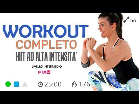 HIIT Brucia Grassi: Esercizi Total Body Ad Alta Intensità