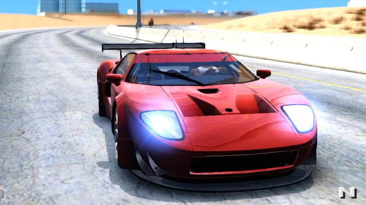 Ford Gt Gt Gta San Andreas