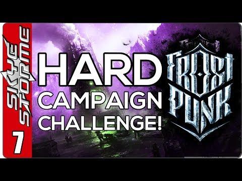 Frostpunk Hard Campaign Challenge - EP 7 FRISKY GUARDS!
