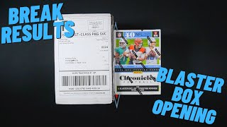 HitMan Rips Break Results & Opening Up A Blaster Box Of 2020 Chronicles Football!