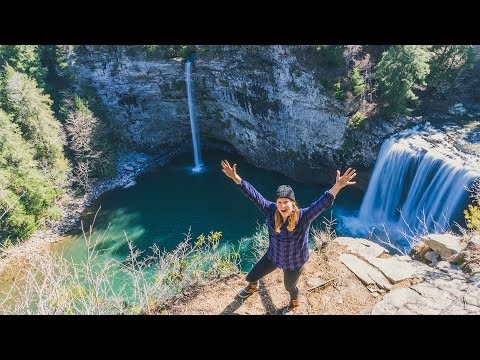 Hiking to MAGICAL WATERFALLS! + Drone Flight