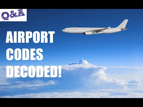 Airport Codes Decoded | Everyday Questions