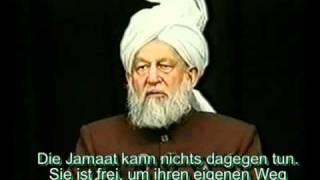 Darf eine muslimische Frau einen Nicht Muslim heiraten? Islam Ahmadiyya - Mirza Tahir Ahmed