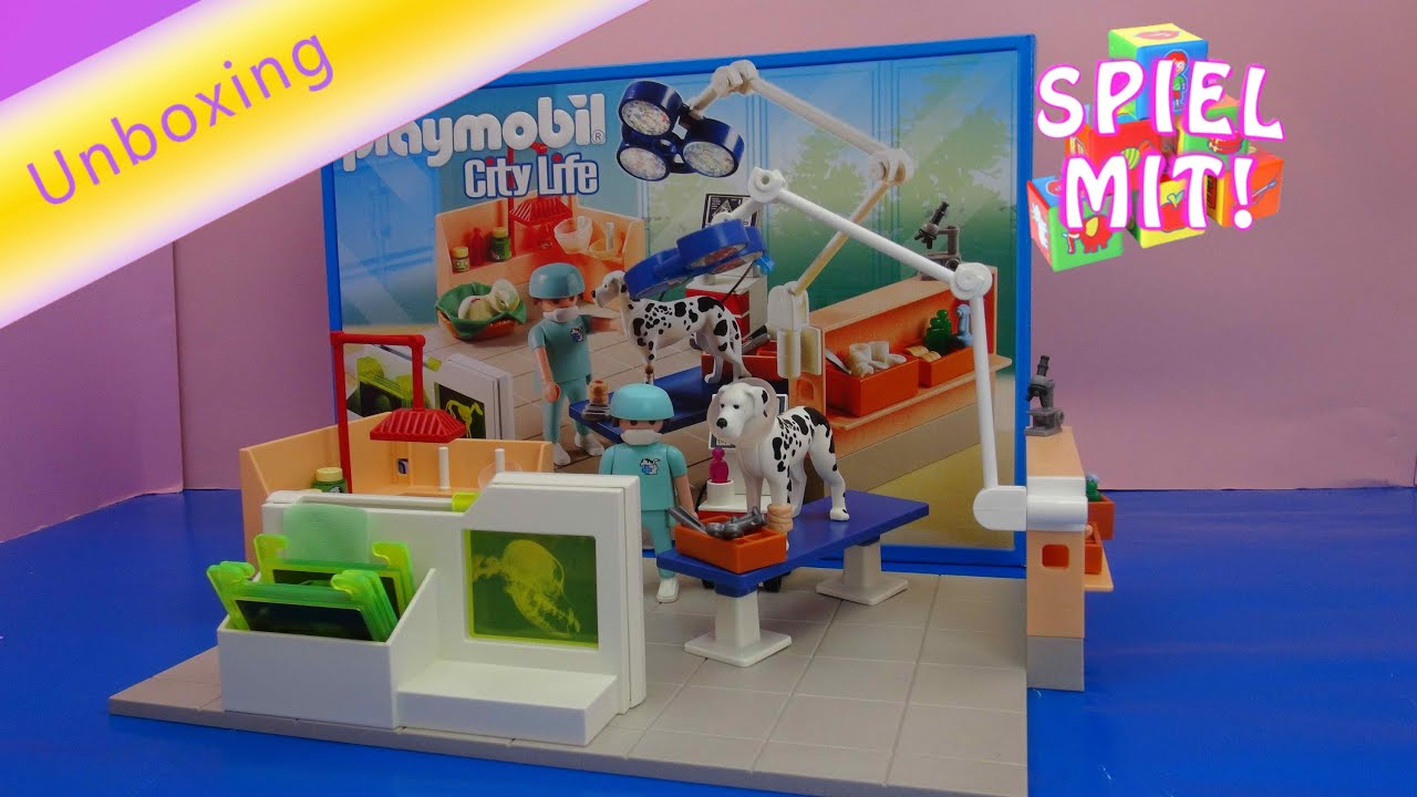 Playmobil City Life Küche Müller Playmobil Tierklinik City Life Operationssaal