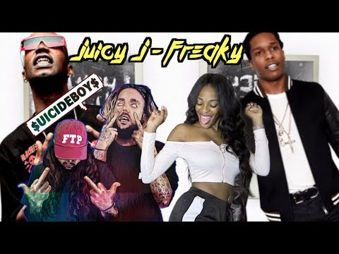 Juicy J - Freaky ft. A$AP Rocky & $uicideBoy$ [Highly Intoxicated] | REACTION!!