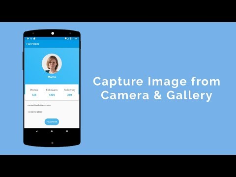 Capture Image from Camera & Gallery - AndroidWave