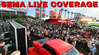 V8TV Minute To Winnit Live!   SEMA Reveal LIVE Video Announcement!