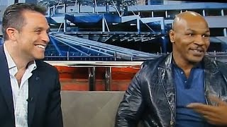 Mike Tyson Curses Out News Anchor On Live TV @Hodgetwins