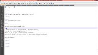 html and css tutorial for beginners overview on notepad video 5 of 27