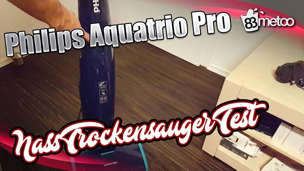 Philips Aquatrio Pro Fc7080 Nass Trockensauger Test Youtube