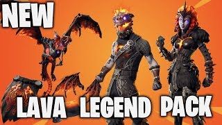 New Lava Legend Pack | Fortnite Battle Royale