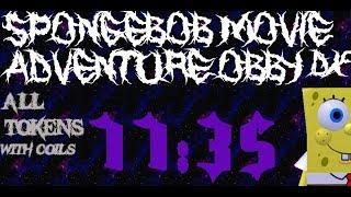 Спанч Боб фільм Пригоди Obby з DX: режисерська всі токени (з котушками) в 11:35
