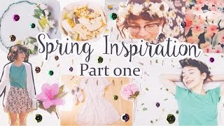 Spring Inspiration - DIY Flower Crown, Spring Outfits, Snackie, and CONTEST