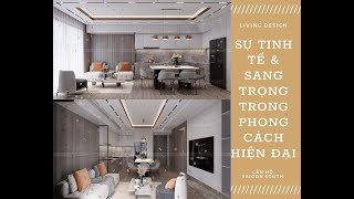 Thiết kế nội thất căn hộ Saigon South Residences Hiện Đại Sang Trọng | Living Design
