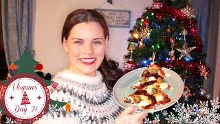 Christmas Pizza | Vlogmas Day 21 | Jenny E