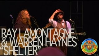 "Ray LaMontagne & Warren Haynes - ""Shelter"" - Mountain Jam VI - 6/6/10"