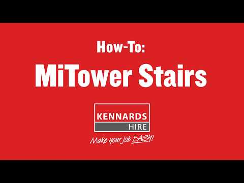 Kennards Hire Australia -  How To Install MiTower Scaffold On Stairs
