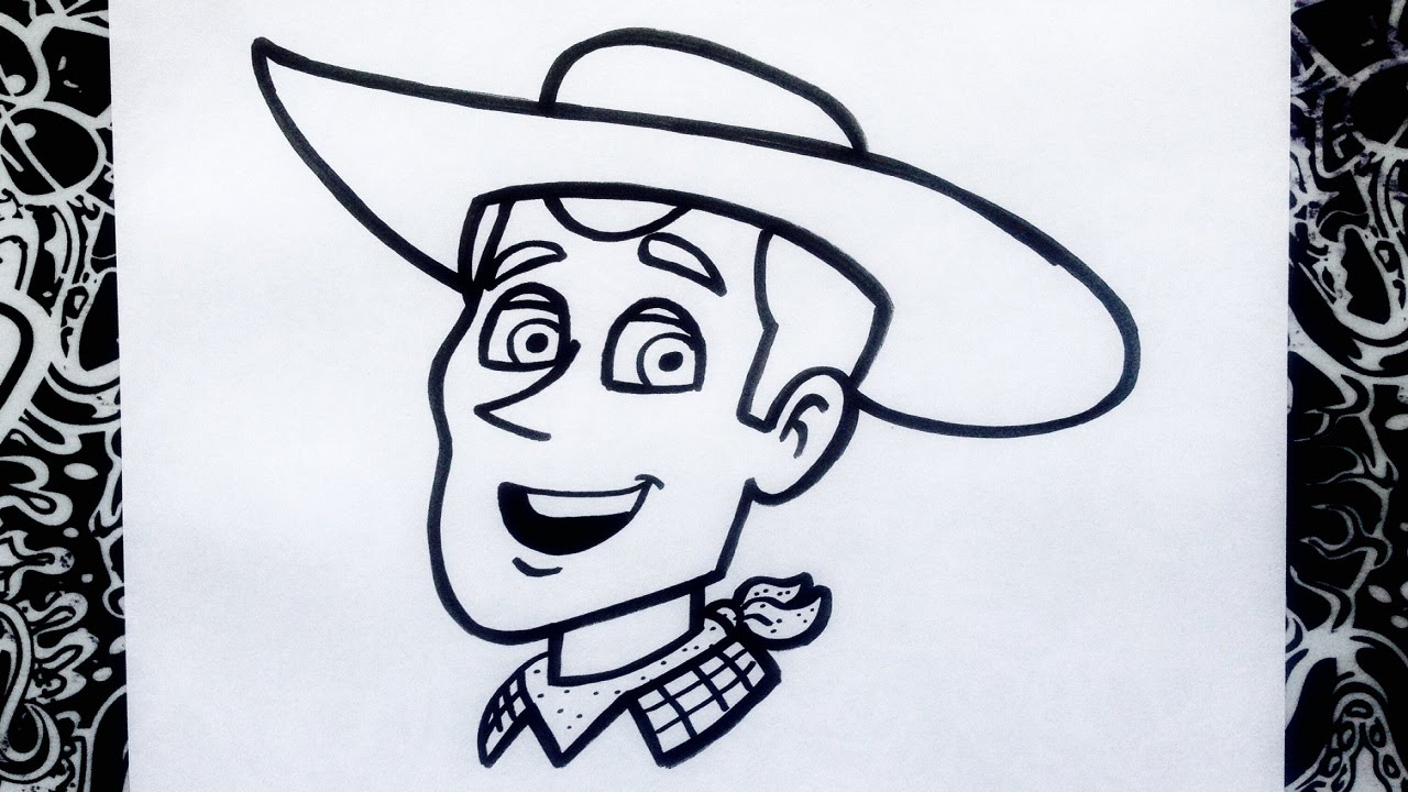 Como Dibujar A Woody De Toy Story How To Draw Woody