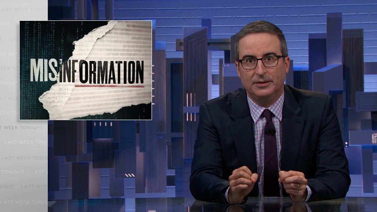 Download Misinformation: Last Week Tonight with John Oliver (HBO)
