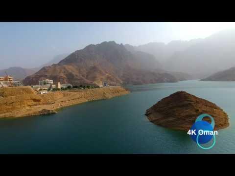 Oman Wadi Dayqah Dam | 4k UHD | تصوير جوي سد وادي ضيقة