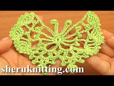 Crochet Butterfly Free Pattern Tutorial 17 How to Crochet Butterflies