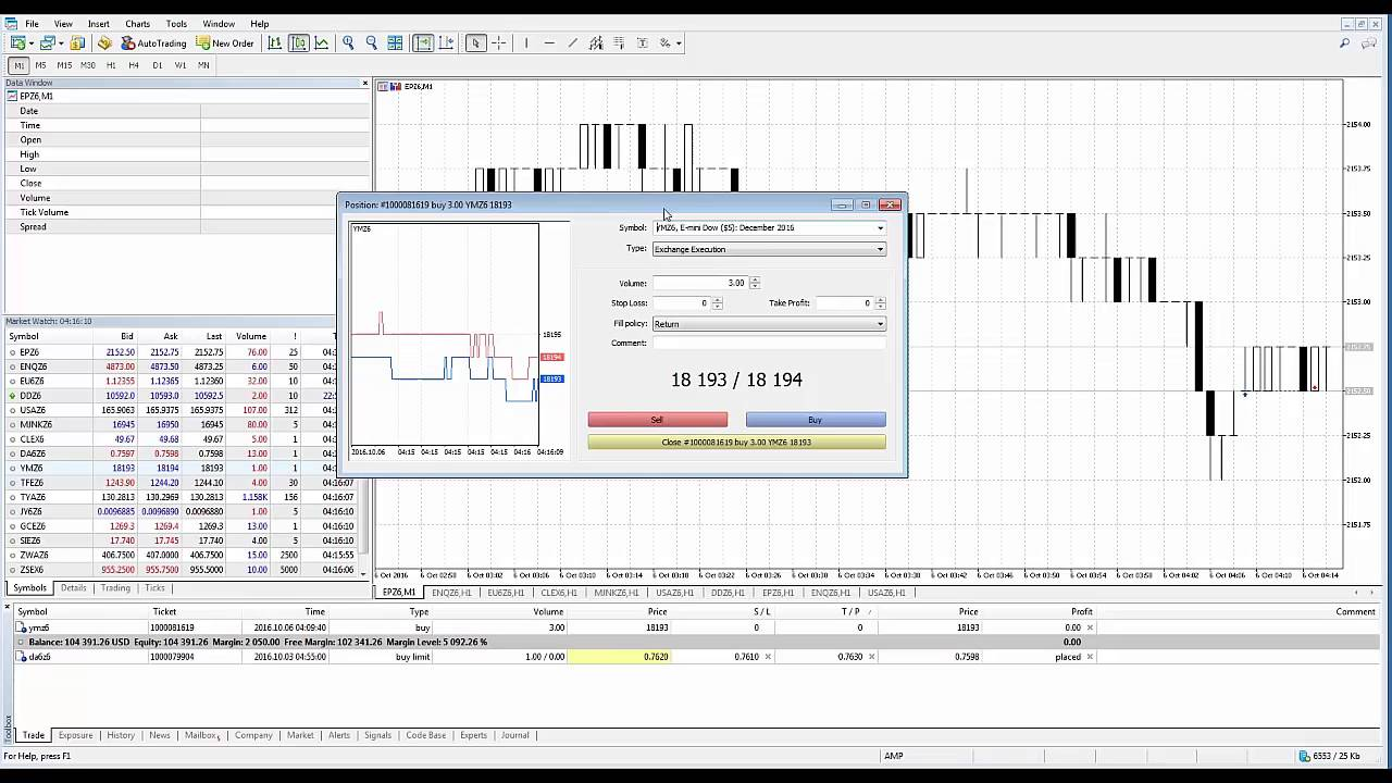 Metatrader5 Mt5 How To Close Open Positions Youtube