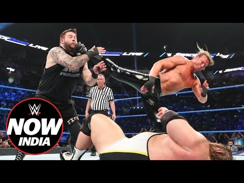 Owens & Ziggler fail to co-exist: WWE Now India