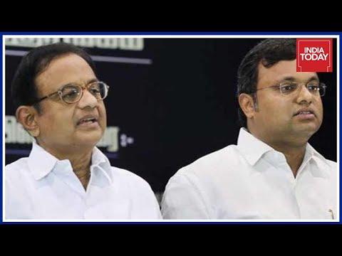 ED Raids At Residences Of P. Chidambaramb & Son Karti