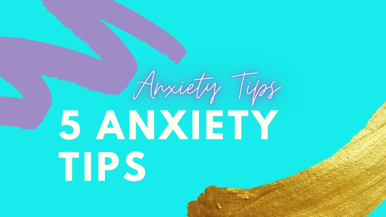Anxiety Tips | Dealing with anxiety out and about
