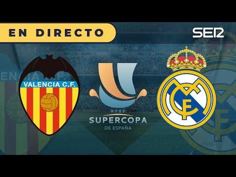 VALENCIA 1 - 3 REAL MADRID | Supercopa de España