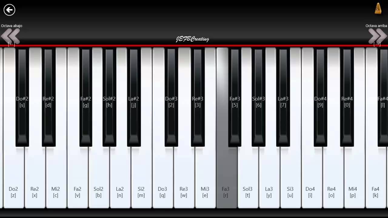 Who You Are Piano Notes