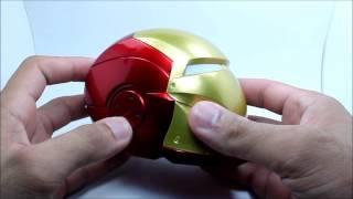 Mini rádio Iron Man Caixa de Som - bateria recarregável - SD - Pen drive - fm TIOCHICOSHOP