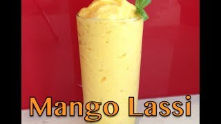 Mango Lassi 2 Ingredient Mango Smoothie Recipe Cheekyricho
